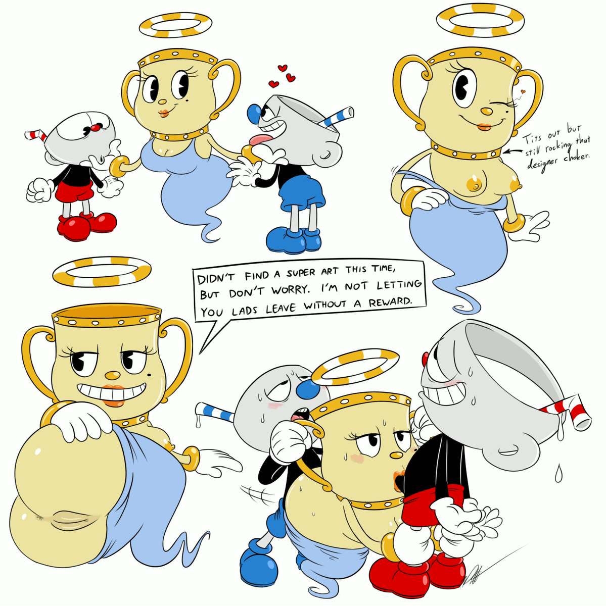 cuphead are you character which Beavis and butthead