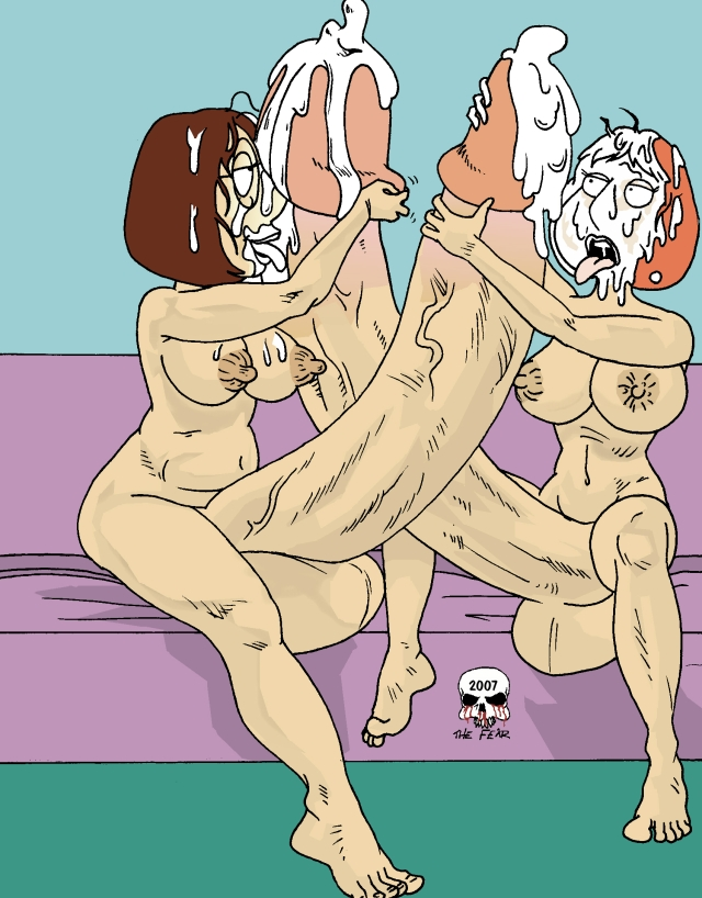 nude lois meg griffin and Hot dog water mystery inc