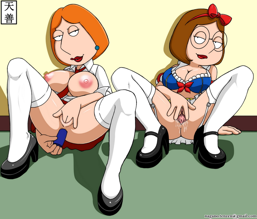 meg nude griffin lois and Flip the frog and clarisse the cat