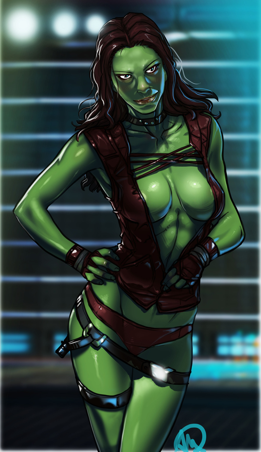 galaxy gamora the guardians of hentai Male to female transformation porn comic