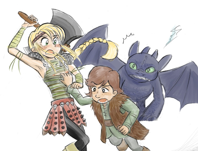your to astrid naked dragon train how Where is challenge mistress fara