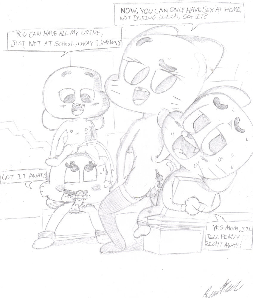 amazing vore world gumball of Bendy and the ink machine hentia