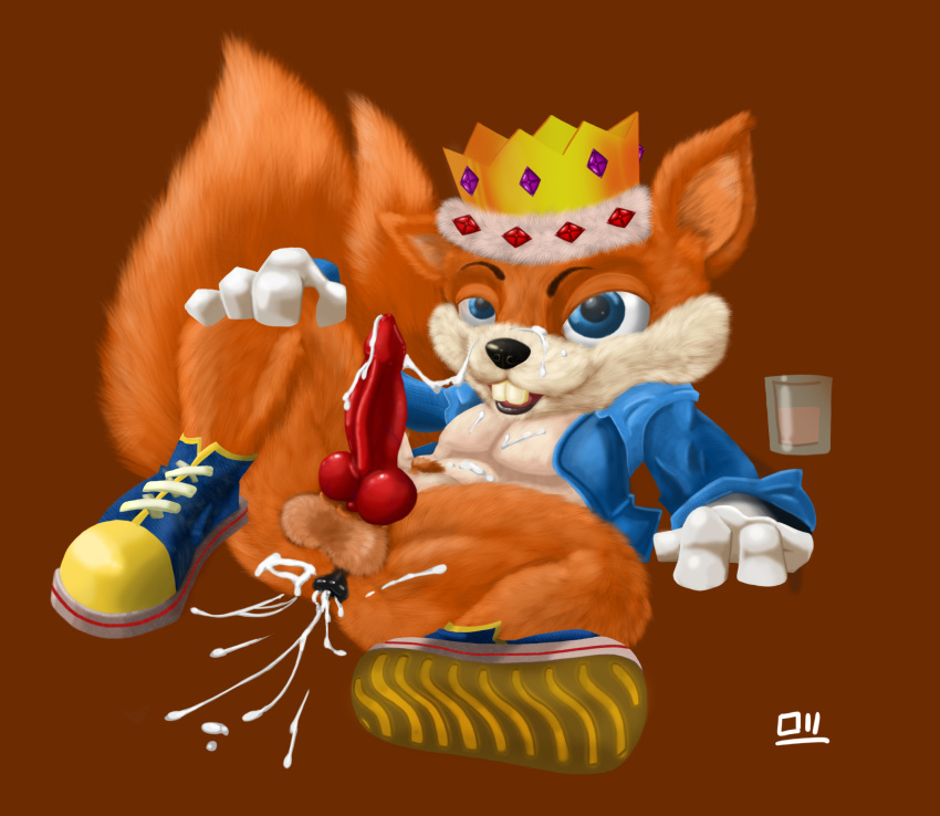 fur bad day conker's porn Female possession by male ghost