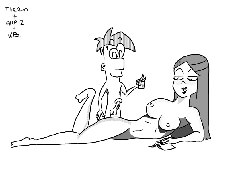 pararam ferb and phineas tram Project x love potion disaster 5.8