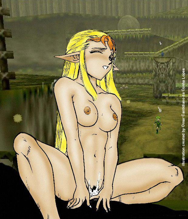 time princess ocarina zora of Trials in tainted space gryvain