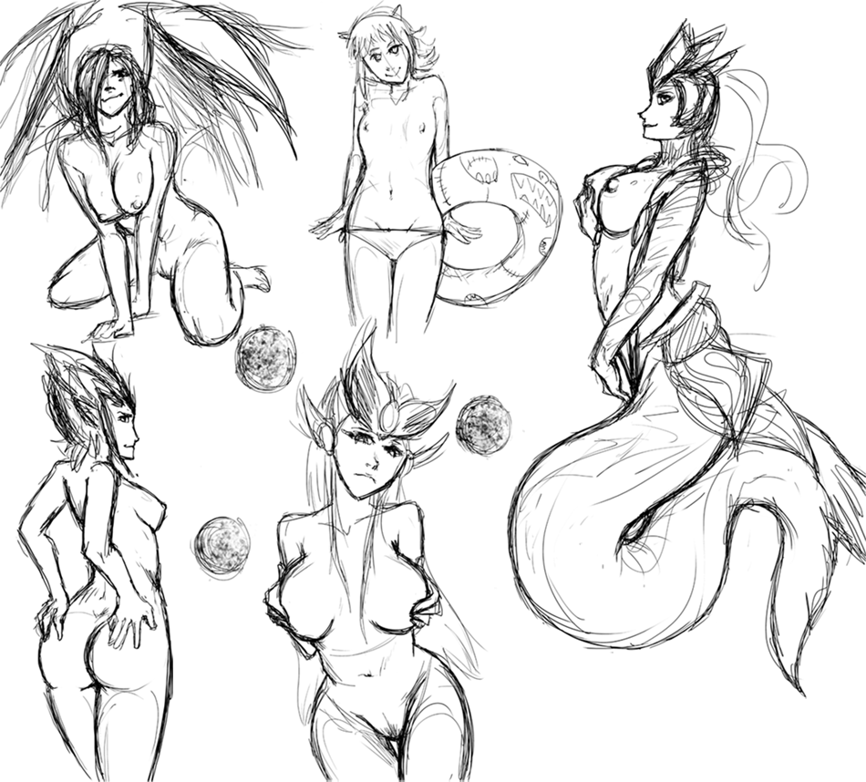 nami legends old how is of league Monster girl quest dragon pup