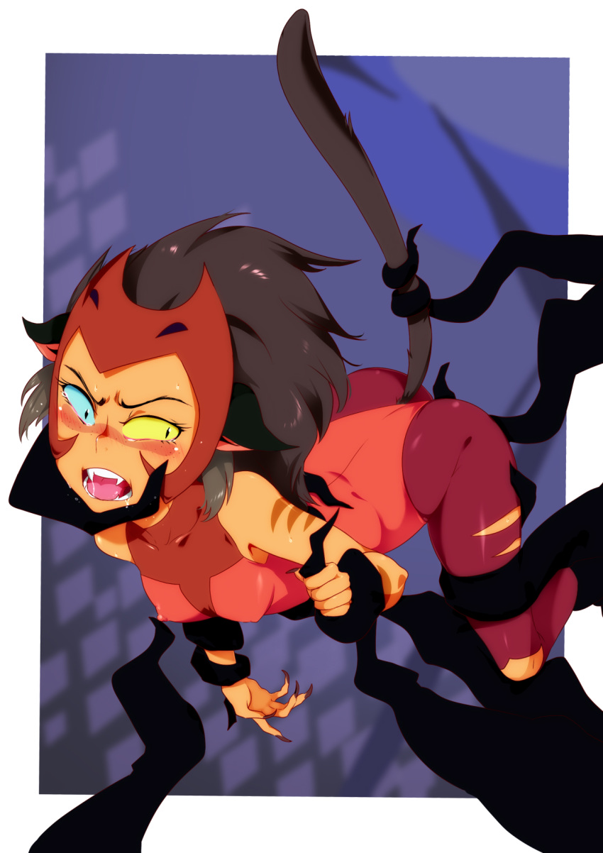 and the princesses catra power she-ra of Gal*gun: double peace uncensored
