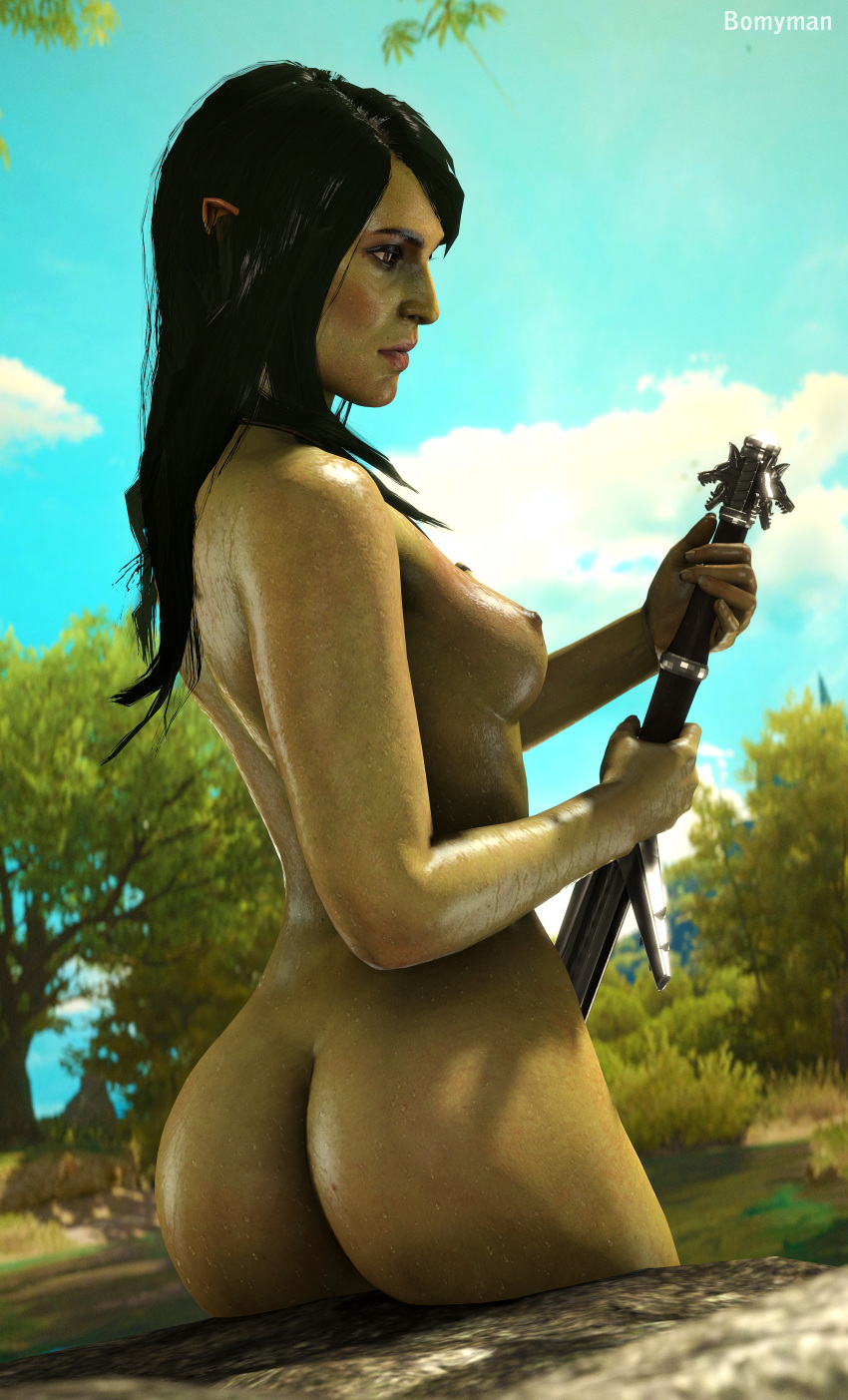 the lady of lake the witcher 3 Divinity original sin 2 hentai
