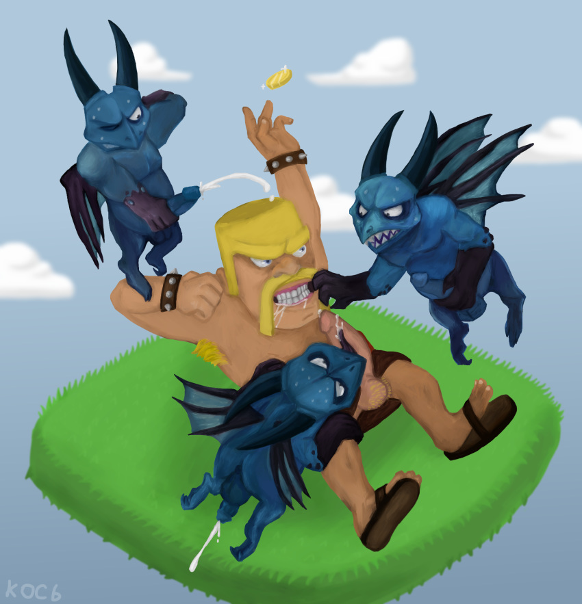 gay of clash porn clans Lilo and stitch life guard